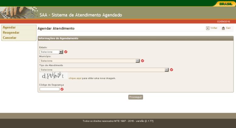 site SAA MTE