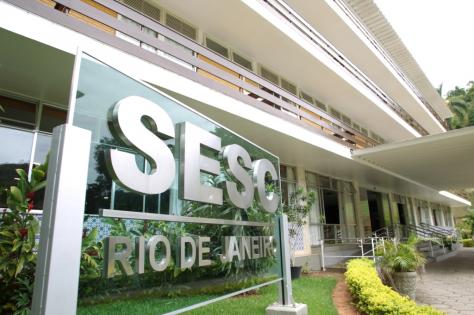 entrada SESC RJ