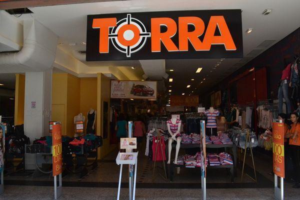 entrada de loja torra torra