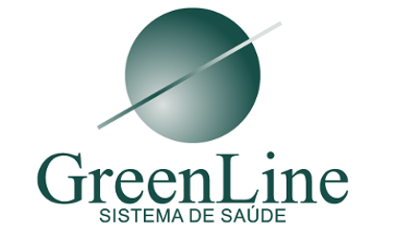 logo green line