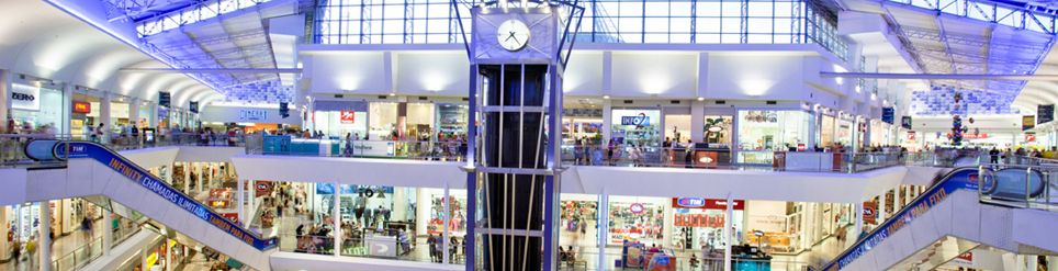por dentro Shopping Del Rey